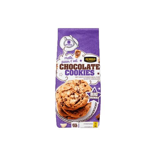 CHUNKY CHOCO COOKIES (X12) 200GR JUMBO